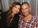 Stacy Keiblerová a Jared Pobre (31. ledna 2014)