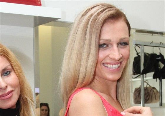 Finalistka soutěže Česká Miss 2014 Veronika Kašáková