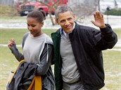 Rodina americk�ho prezidenta Baracka Obamy se stala vzorem pro m�dn� styl, kter�mu se ��k� normcore.