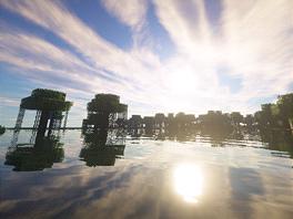 Díky některým modifikacím Minecraft může vypadat velmi působivě.
