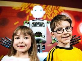 Humanoidní robot Thespian je zatím jediný v ČR