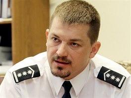 Ředitel dopravní policie Tomáš Lerch