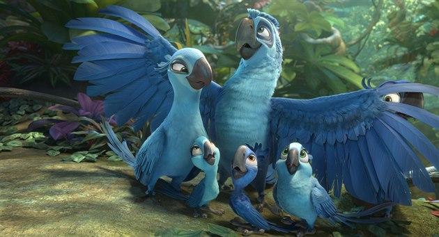 Z animovaného filmu Rio 2