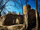 Vojenský újezd Brdy - hrad Valdek