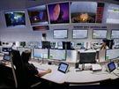 Řídicí středisko ESA v Darmstadtu v Německu. Odtud autor sledoval start Sentinelu 1A z kosmodromu v Kourou ve Francouzské Guayaně.