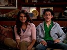 Lyndsy Fonseca a David Henrie v seriálu Jak jsem poznal vaši matku (2005)