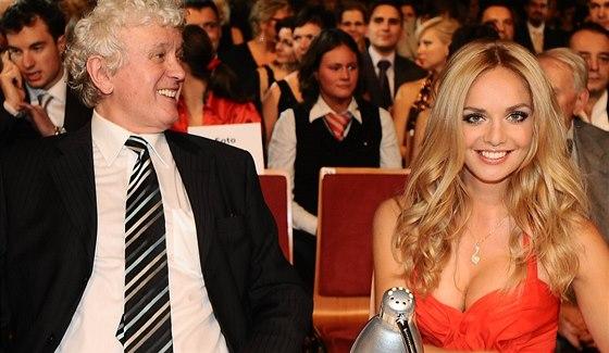 Miloš Zapletal a Taťána Kuchařová - Finále Miss ČR 2009