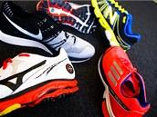 Co bota, to jiný střih, šířka, délka i tlumení.