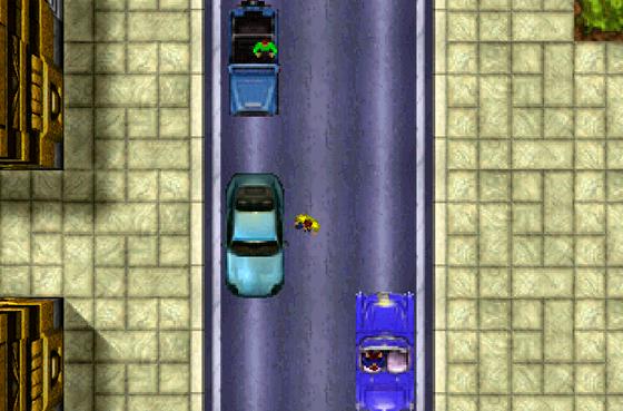 První díl série Grand Theft Auto