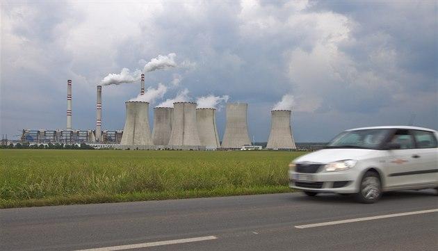 Elektrárna v Po�eradech