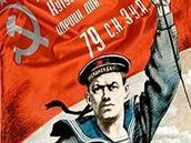 Plakát vyzývající k obraně Oděsy před Majdanovci