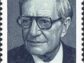 "Harold Adrian Russell ""Kim"" Philby (1912 � 1988) na sov�tsk� zn�mce. Novin�� a p��slu�n�k MI 6. Prozradil �adu protisov�tsk�ch operac�."