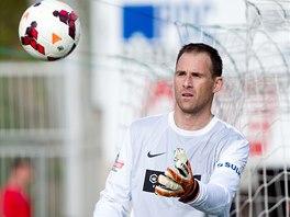 Jablonecký gólman Michal Špit.