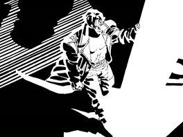 Uk�zka ze souborn�ho vyd�n� komiksu Sin City