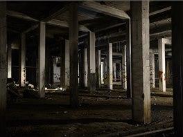 Podzemí pod někdejším Stalinovým pomníkem