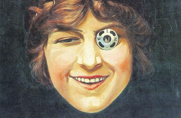Slavn? obraz Dívka s patentkou (1912) namaloval Franti?ek Kupka podle...