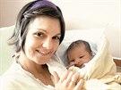 Kateřina Emmons se synem Martinem, který se narodil loni v červnu.