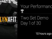 """O aplikaci využívající """"rozšířenou realitu"""" se snaží Lynxfit, počítá vám, kolik cviků uděláte (pomocí akcelerometrů) a na obrazovce vám ukazuje videonávod, jak cvik správně provést."""