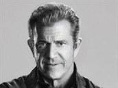 Mel Gibson na plakátu k filmu Expendables 3