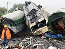 Tragick� �elezni�n� nehoda ve Stud�nce na Novoji��nsku. (8. srpna 2008)