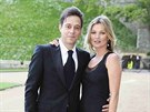 Jamie Hince a Kate Mossov� (Windsor, 13. kv�tna 2014)