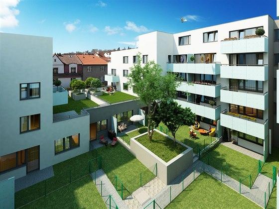 Skanska Reality postaví na pražském Žižkově dům se 107 byty.
