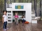 V dětském pokoji by měl být dostatek volného prostoru na hraní a řádění.