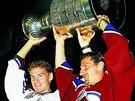 2001 /  Colorado Avalanche: Martin �koula a Milan Hejduk