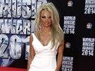 Pamela Andersonová na World Music Awards (Monte Carlo, 27. května 2014)