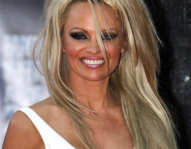 Pamela Andersonová na World Music Awards (Monte Carlo, 27. kv�tna 2014)