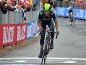 Nairo Quintana se ��t� do c�le �estn�ct� etapy Gira.
