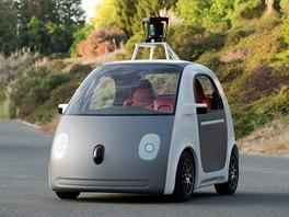 Pln� automatizovan� automobily od spole�nosti Google budou bez volantu, plynu nebo brzd. Mal� elektrick� v�z je zat�m ur�en� pro dva cestuj�c�.