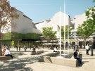 Nov� vizualizace ukazuj�, jak bude m�sto mezi ulicemi Vesel� a Besedn� vypadat bez koncertn�ho s�lu.