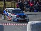 Roman Kresta na Rallyesprintu Kopná