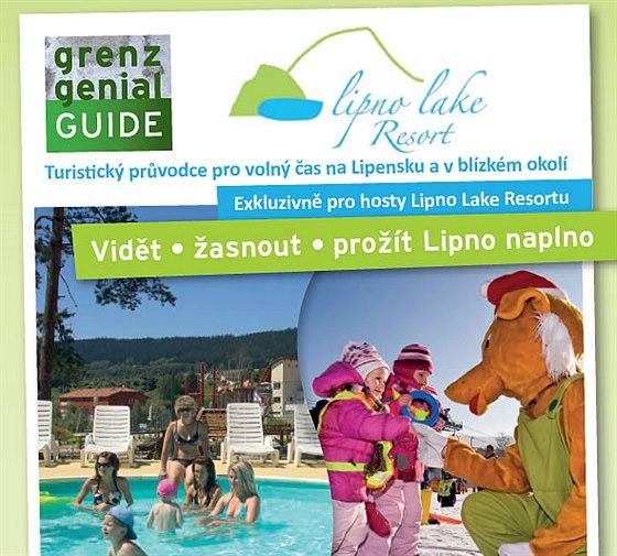 Nový turistický průvodce apartmánů Lipno Lake Resort nabízí desítky atraktivních slev a tipů pro volný čas