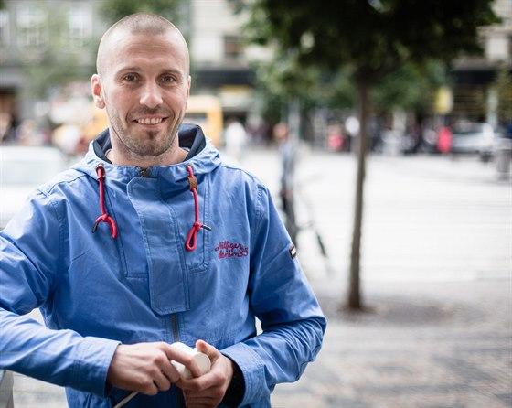 """""""Konopné výrobky vyrábím už pět let,"""" říká Jiří Stabla."""