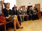 Předsedkyně Energetického regulačního úřadu Alena Vitásková u brněnského krajského soudu, který prověřuje machinace s udělováním licencí pro fotovoltaické elektrárny.