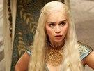 Emilia Clarke v seriálu Hra o trůny