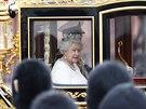 Britská královna Alžběta II. (Londýn, 4. června 2014)