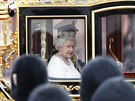 Britsk� kr�lovna Al�b�ta II. (Lond�n, 4. �ervna 2014)