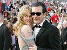 Melanie Griffithová a Antonio Banderas (Los Angeles, 27. února 2005)