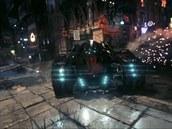 Batmobil z Batman Arkham Knight se představuje.