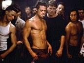 Brad Pitt ve filmu Klub rv� (1999)