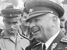 Prezident Ludv�k Svoboda.