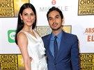Neha Kapurová a Kunal Nayyar (Beverly Hills, 19. června 2014)