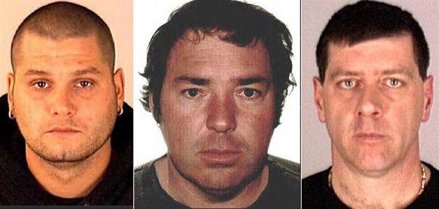 Na snímku z Interpolu je vlevo Yves Denis, uprost�ed Serge Pomerleau a vpravo...
