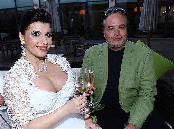 Ondřej Kepka s bývalou partnerkou operní divou Andreou Tögel Kalivodovou.