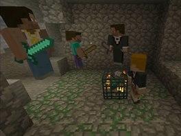 Doom má sice lepší grafiku, ale buďme rádi, že hitem mezi mládeží je dnes Minecraft.