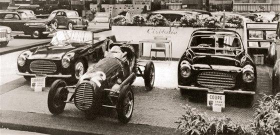 Cisitalia D46 se představila v roce 1948 na pařížském autosalonu