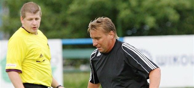 Horst Siegl v blšanském dresu